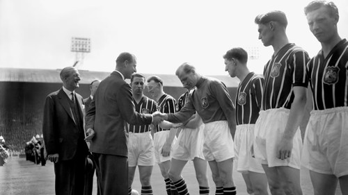 1956 FA Cup Final line up