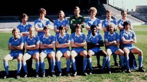 Manchester City 1981 team