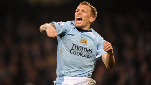 Craig Bellamy celebration 0809