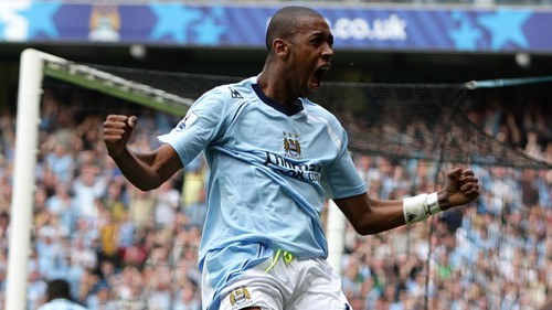 Gelson Fernandes at City of Manchester Stadium 0809