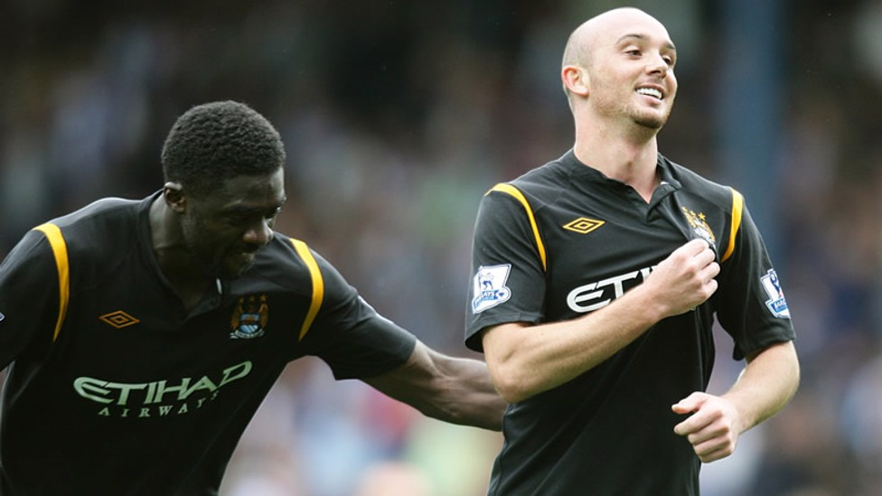 2009: A debut goal from Emmanuel Adebayor and another from Stephen Ireland ensure City start with a win.