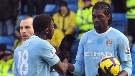 Toure and Adebayor