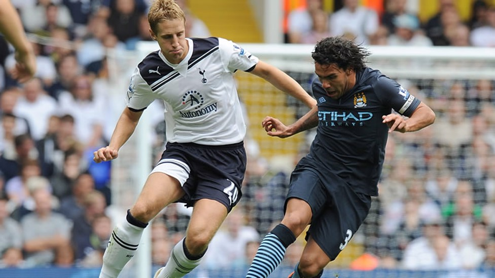 STALEMATE: A share of the spoils signalled the start of the 2010/11 season, with Spurs holding Roberto Mancini's men to a 0-0 draw at White Hart Lane.