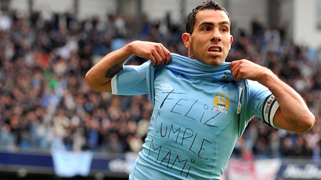Tevez Celebrates Chelsea1