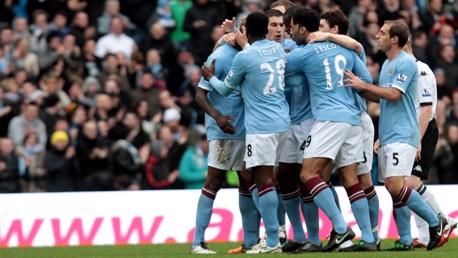 Mario scores v Fulham