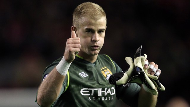 1 Joe hart thumbs up