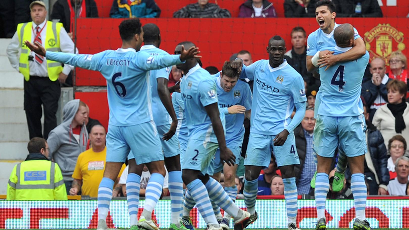 Team celebrate