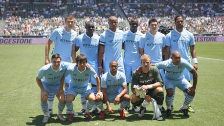 Team Line up LA gal