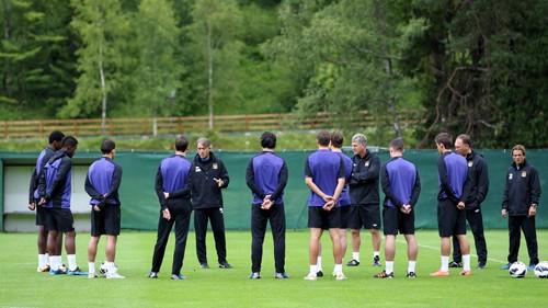 Manchester City Austria Training Camp