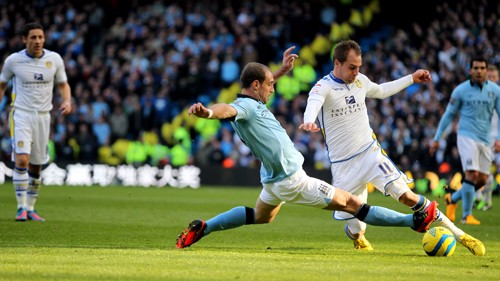 Zabaleta action shot