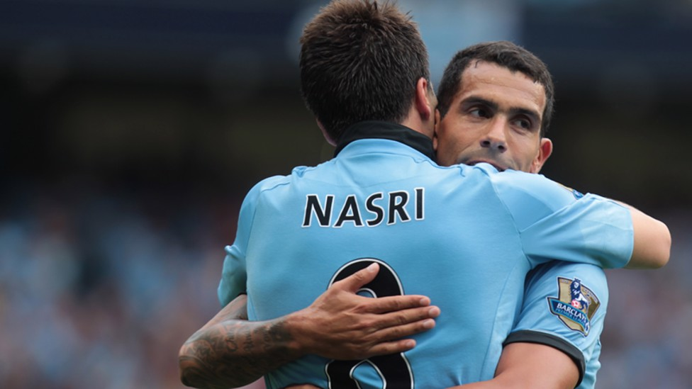 2012/13: Samir Nasri took the first day plaudits four years ago. The Frenchman struck 10 minutes from time to give the reigning champions a 3-2 win over newly promoted Southampton.