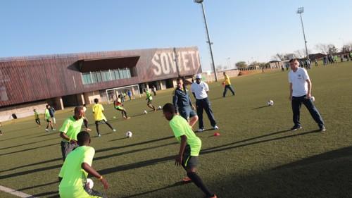 Soweto football centre