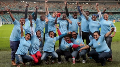 SOS children meet City squad