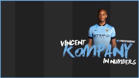 Vincent Kompany: Infográfico