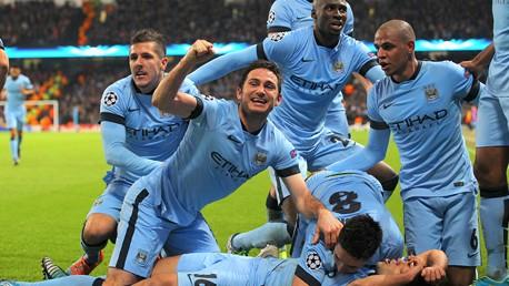 City v Bayern: Match highlights