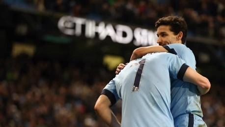 City v Leicester: Brief highlights