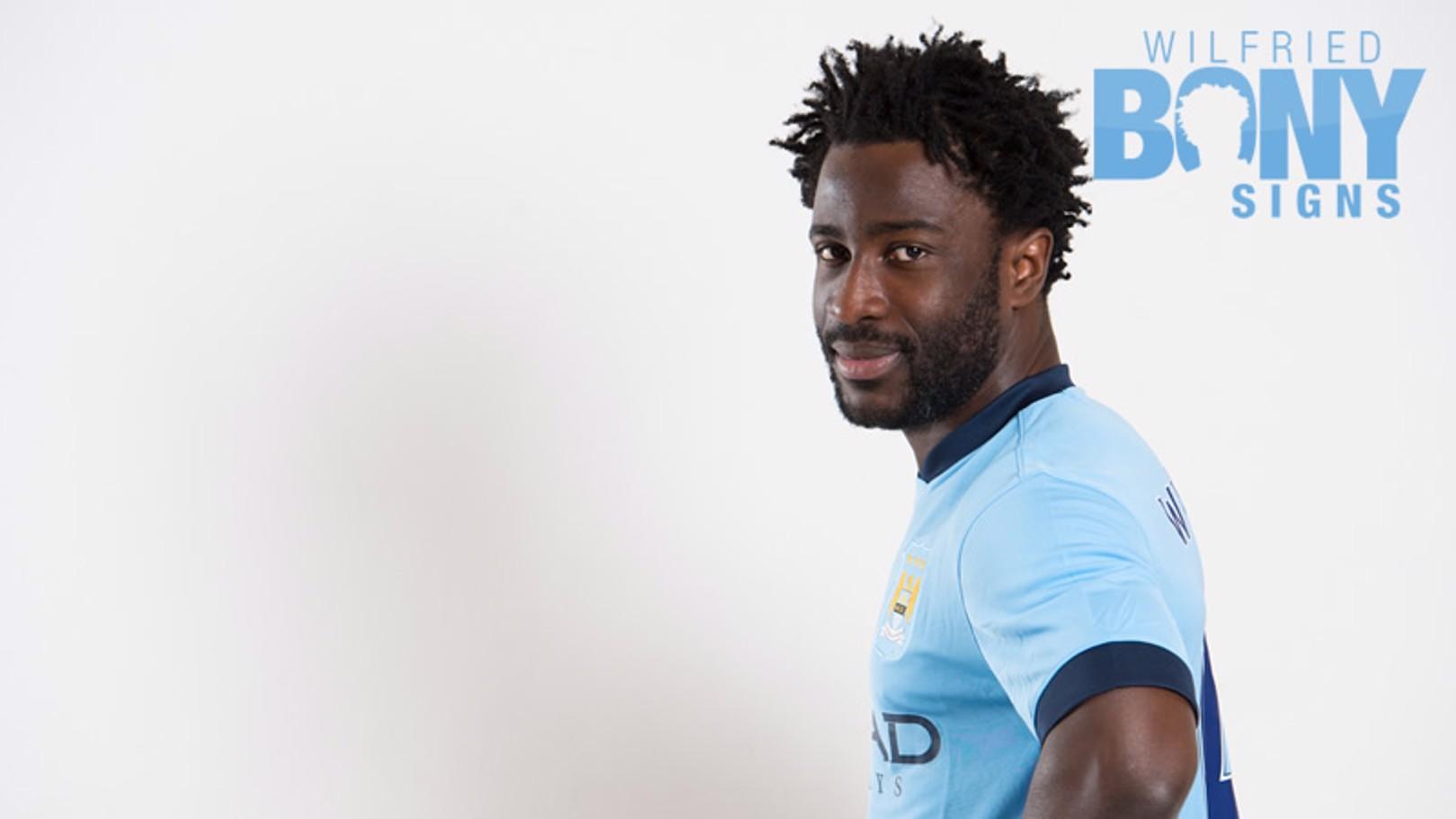 Wilfried Bony joins City
