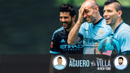Team Aguero v Team Villa: Part one