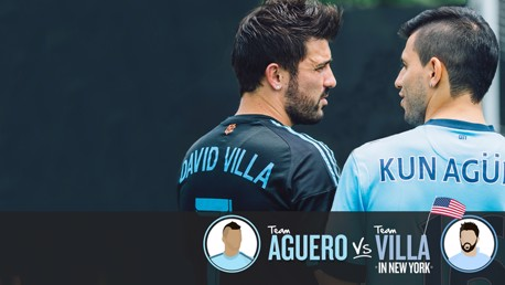 Team Aguero v Team Villa: Part two