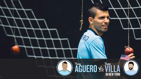 Team Aguero v Team Villa: Part three