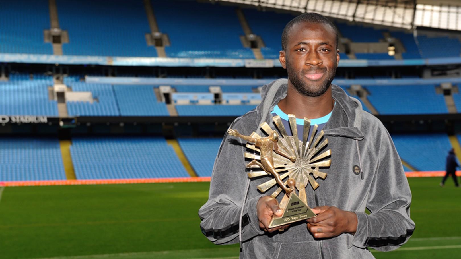 Yaya named BBC African Footballer of the Year