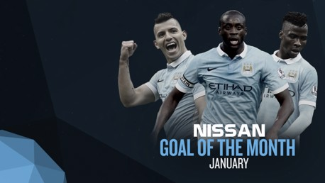 Nissan Goal of the Month: January