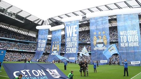 South Stand unveiling