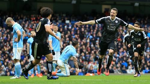 Leicester celebration