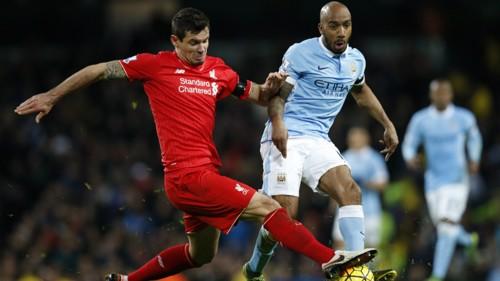 Fabian Delph v Liverpool