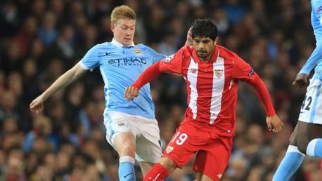 City v Sevilla: Match highlights