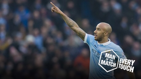 Fabian Delph: Every Touch