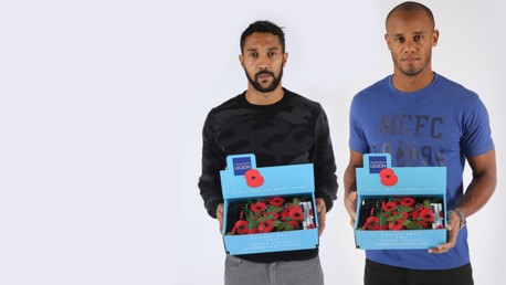 City and Poppy Appeal team up