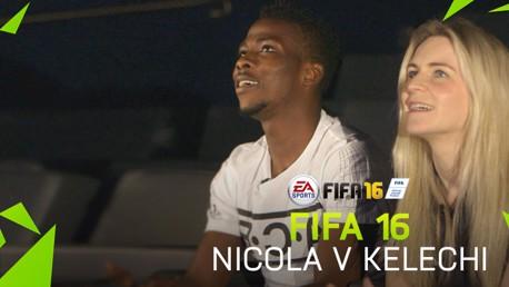 FIFA 16: Kelechi v Nicola