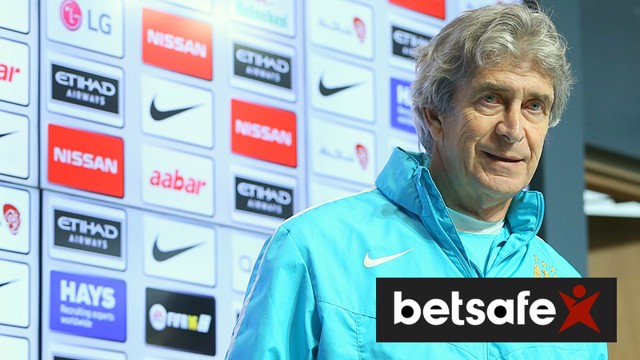 Manuel Pellegrini addresses the media