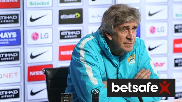 Manuel Pellegrini addresses the media ahead of City v Crystal Palace