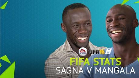 FIFA 16 Stats: Sagna v Mangala