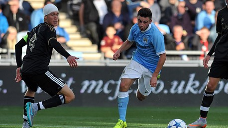 UEFA Youth League: City v Juve highlights