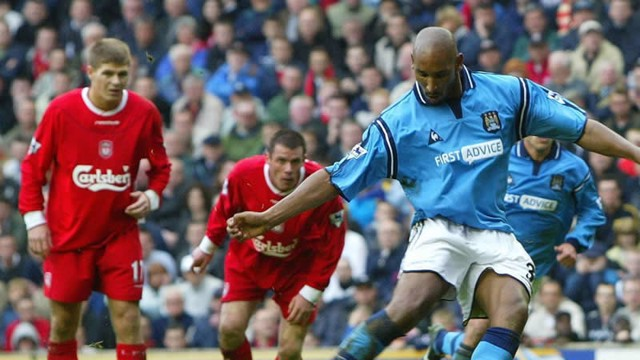Image result for liverpool v man city 2003