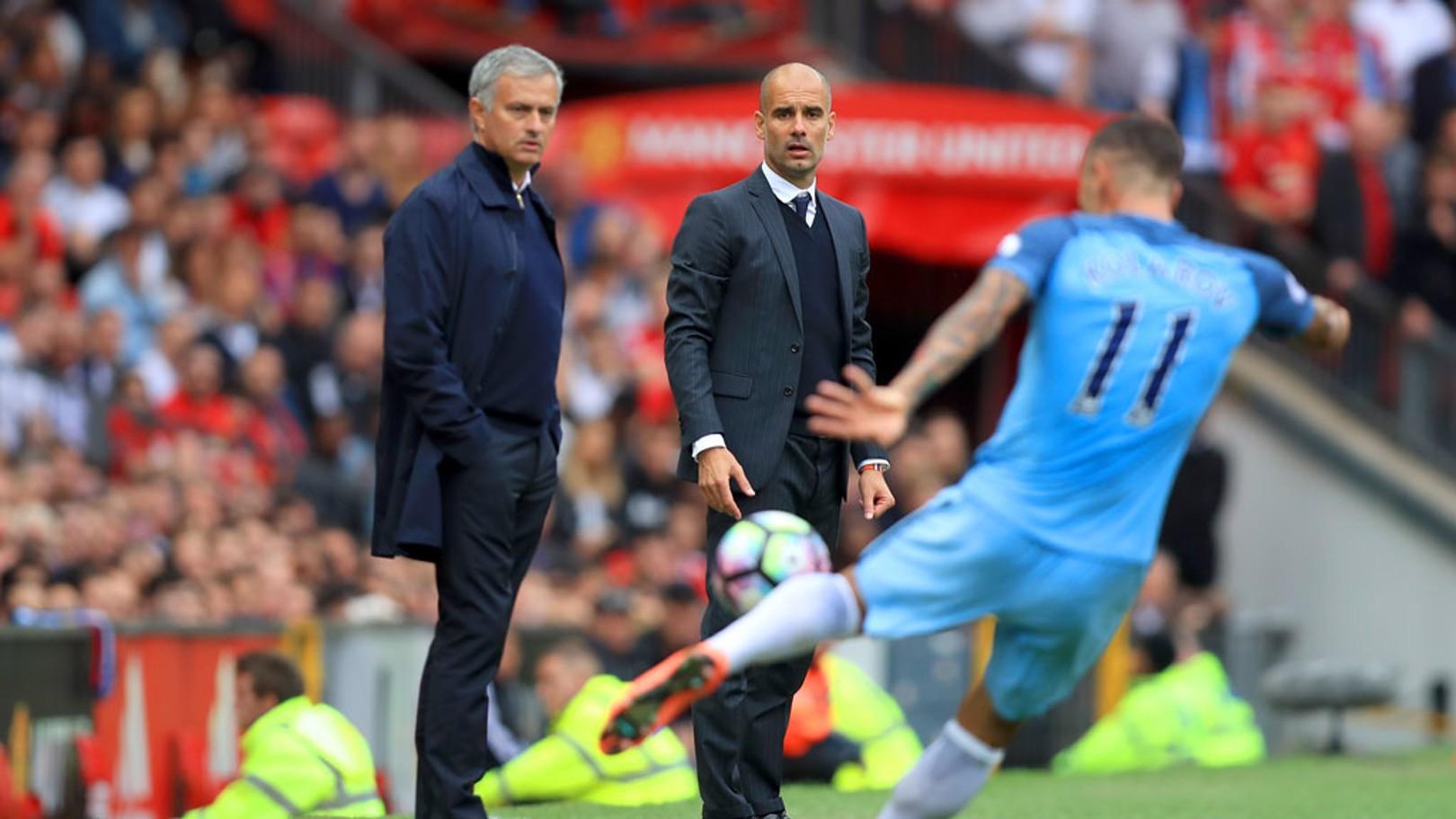 """Guardiola: """"Hoje demos uma lição com a bola"""""""