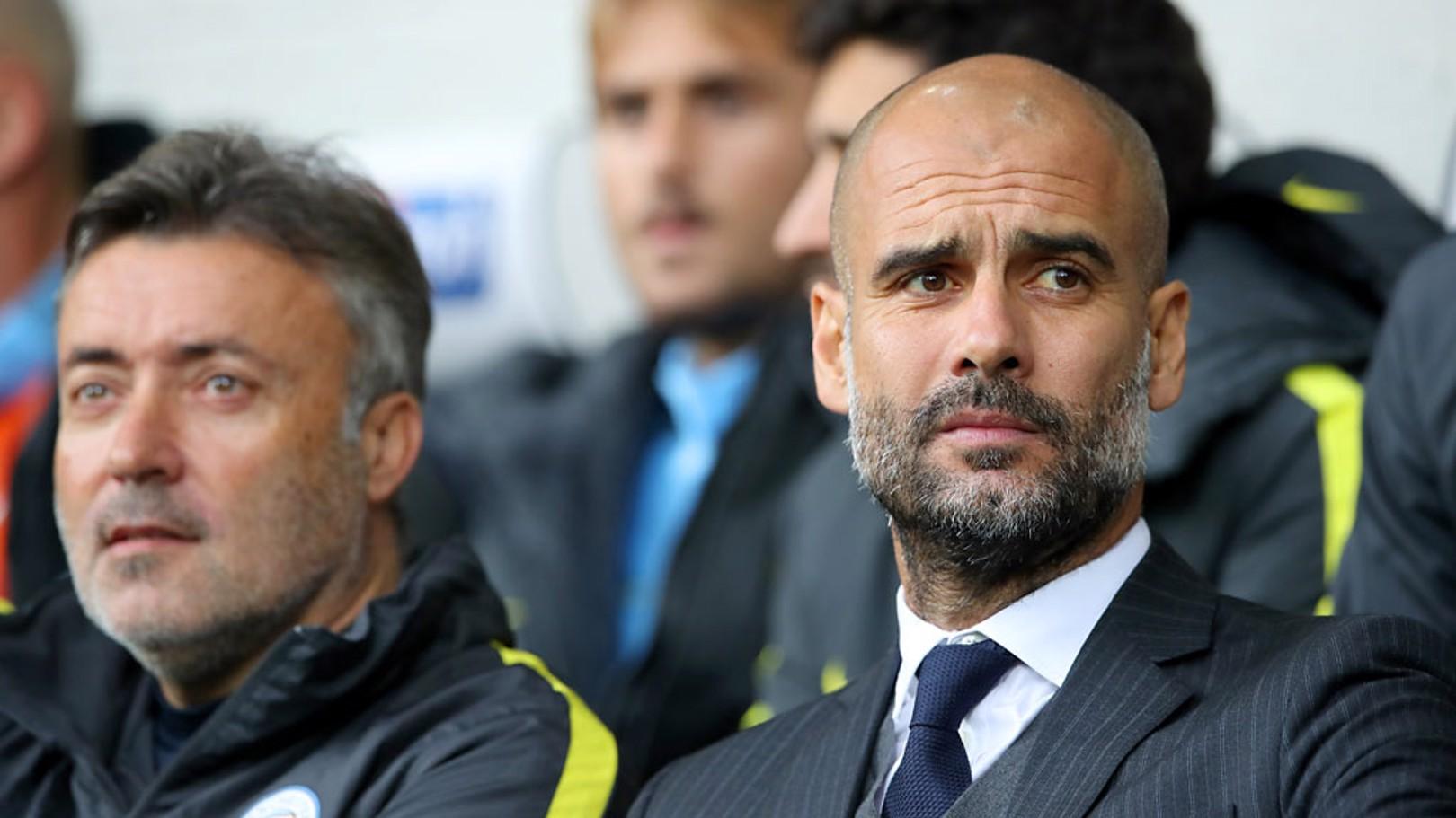 """Guardiola: """"O Sergio é muito importante para nós"""""""