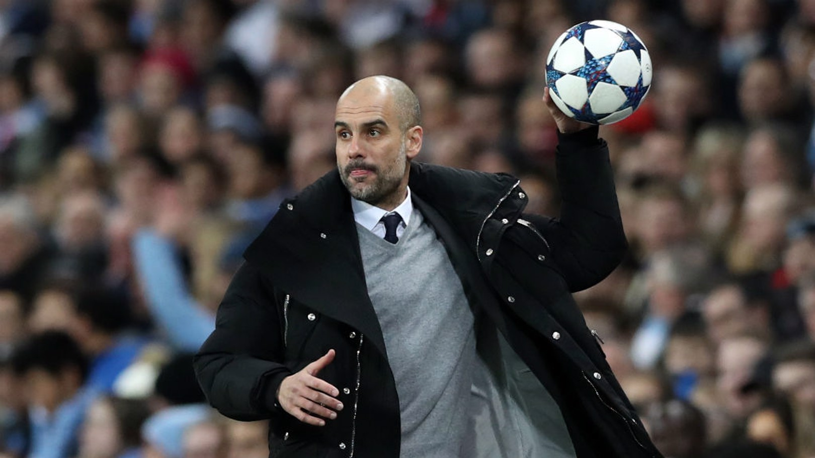 PEP: His team were on the ball to begin with