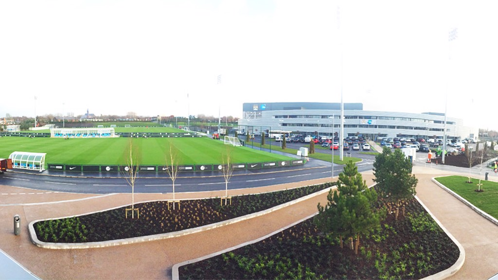 Image result for man city london training complex