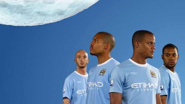 New MCFC Umbro Shirt