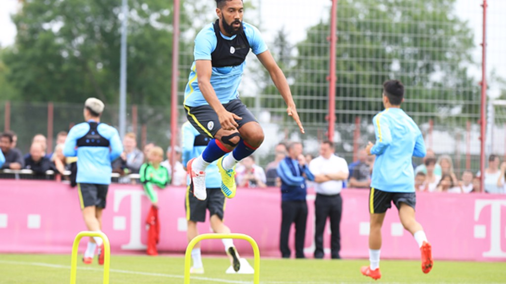 HOP TO IT: Gael training in Munich
