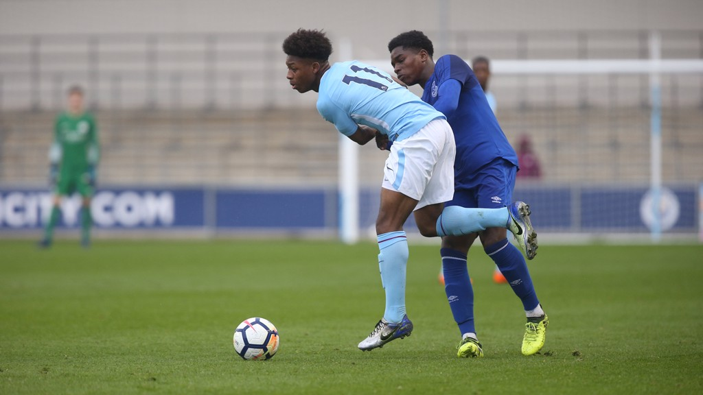 Report: City U18s 6-1 Everton