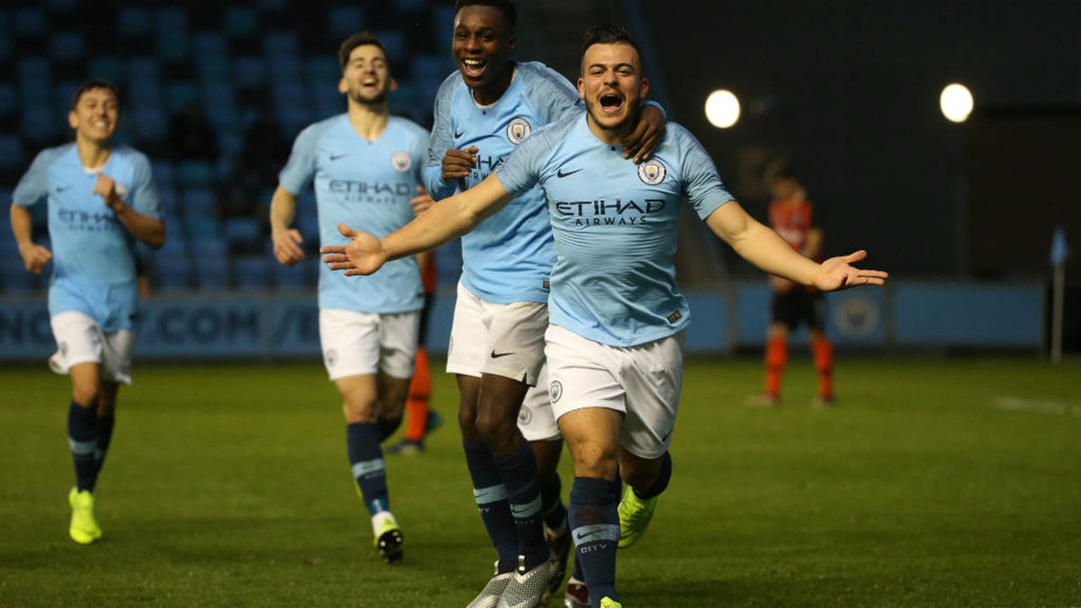 ON TARGET: Lorenzo Gonzalez was among the goals for City