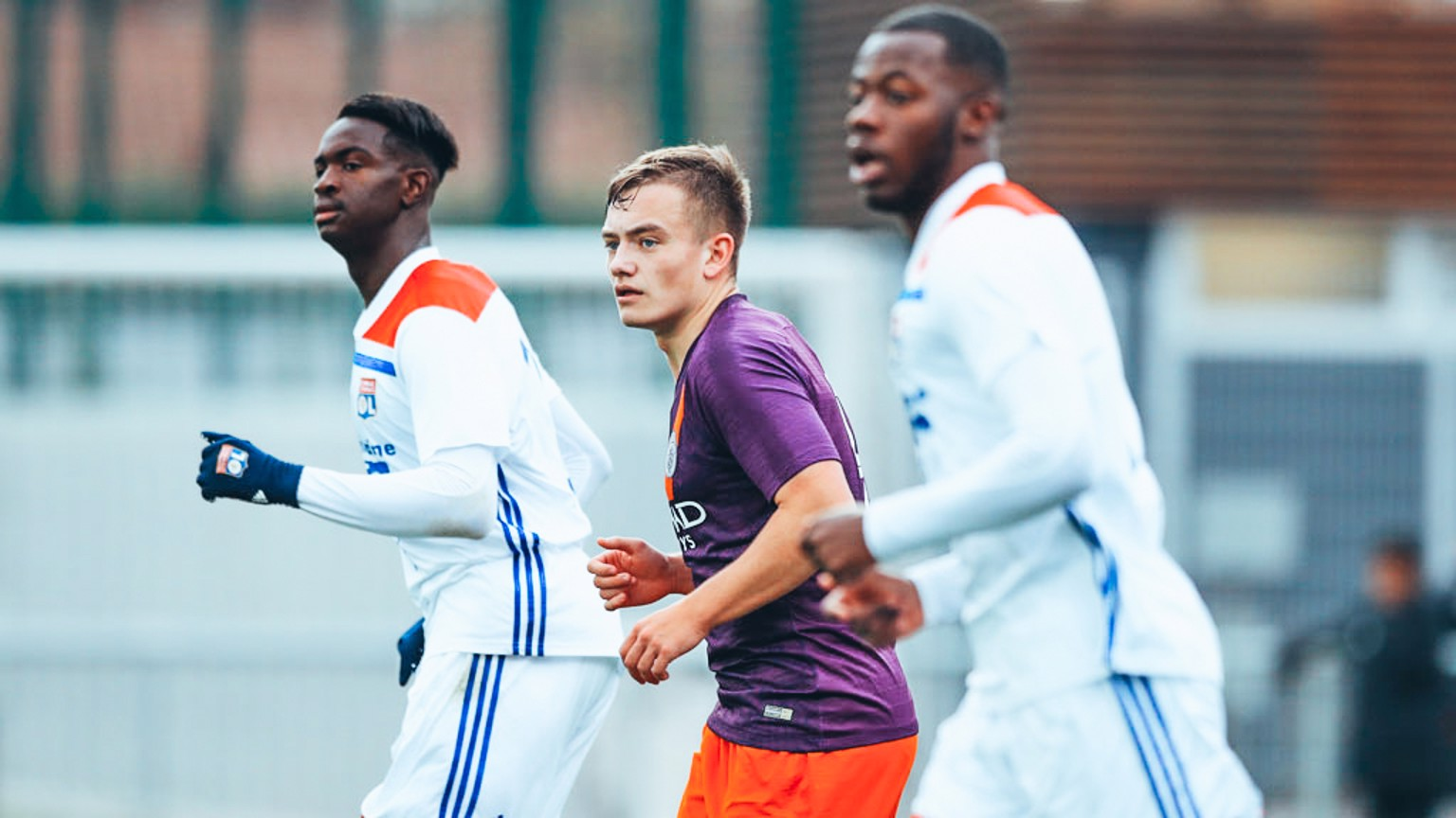 EUROPEAN EXIT: The young Blues' UEFA Youth League adventure is brought to an end, at the hands of Lyon