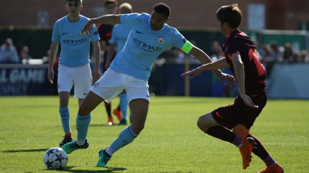 UYL: City take on Barcelona in the semi-finals.