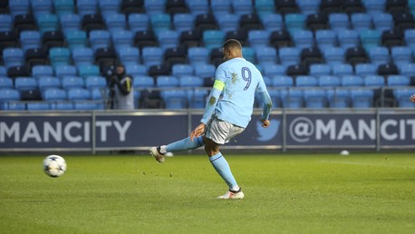ON TARGET: Lukas Nmecha equalises from the spot against Inter Milan.