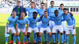 TABLE TOPPERS: City U19s are top of the UEFA Youth League group.